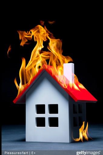 incendie-rideau-maison