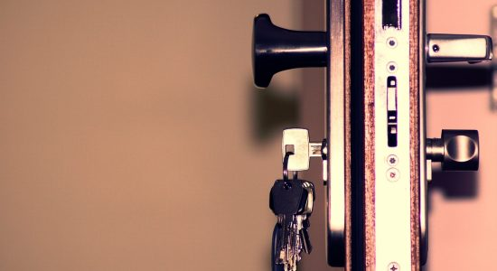 clé dans une serrure